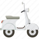 motorbike, scooter, vespa icon