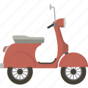 motorbike, scooter, vespa