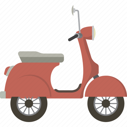 motorbike, scooter, vespa icon