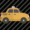cab, taxi, taxicab