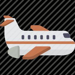 airplane, plane, travel icon