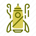 fly, holiday, rocket, space, spacetravel, transport icon