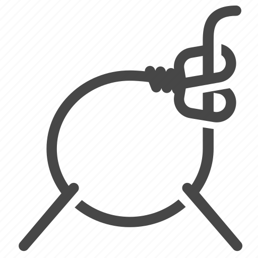 animal trapping, catcher, loop, snare, trap, trapping icon