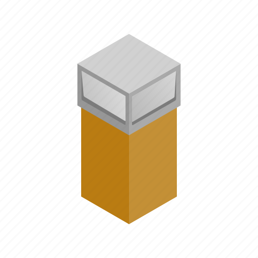 bin, container, environment, garbage, isometric, street, trash icon