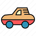 automobile, car, delivery, machine, public, transport, vehical icon