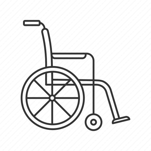 Chair, disability, disabled, handicap, handicapped, wheel, wheelchair icon - Download on Iconfinder