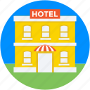 building, five star hotel, hotel, lodge, real estate icon