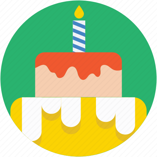 bakery, birthday cake, cake, food, sweet food icon