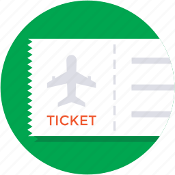 entry ticket, event pass, ticket, travel ticket, travelling pass icon
