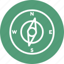 arrow, compass, location, point, up icon