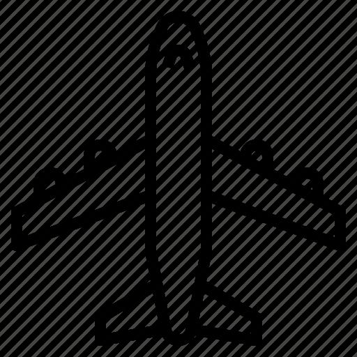 airplane, flight, transportation, travel icon