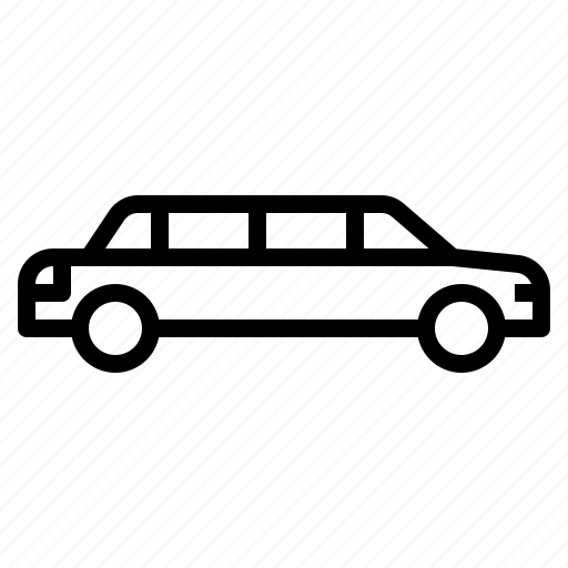 car, limousine, luxury, transportation, vip icon
