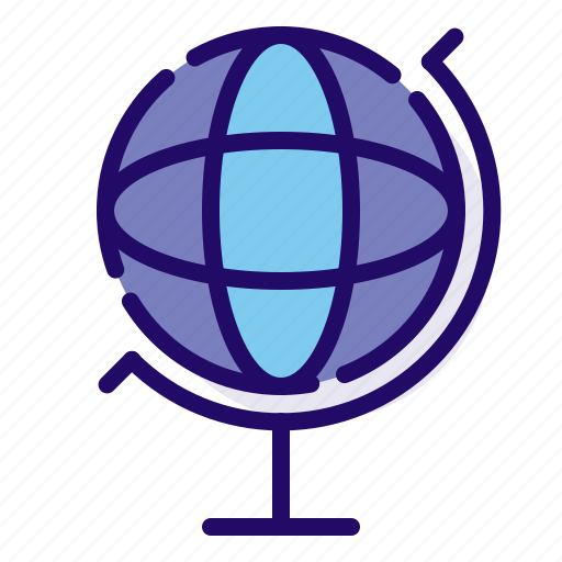 globe, international, location icon