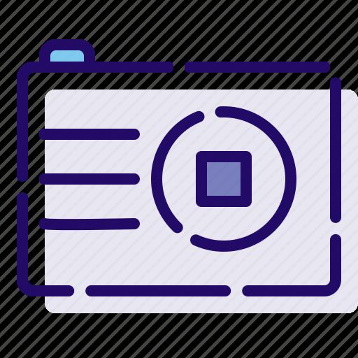 camera, device, photography icon