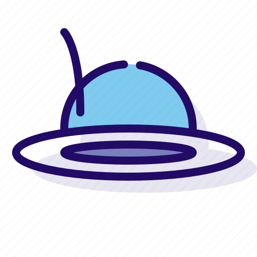 clothes, clothing, hat icon