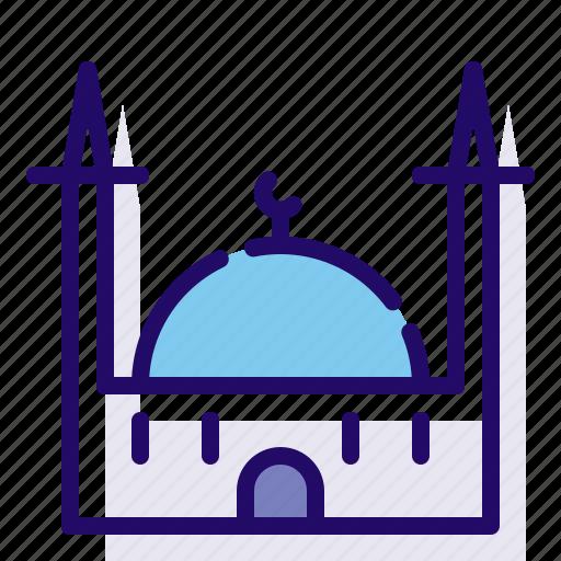 islam, mosque, religion icon
