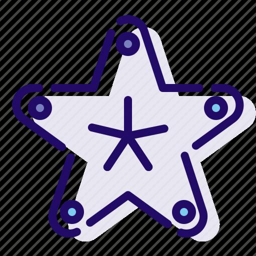 aquarium, ocean, sea, star icon