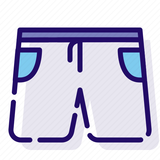 clothes, clothing, shorts icon