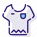 clothes, clothing, shirt icon