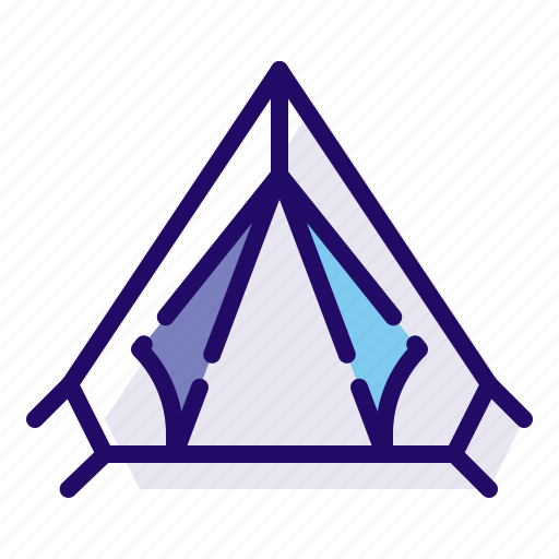 Camp, camping, tent icon - Download on Iconfinder