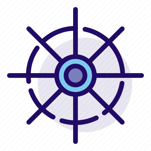 Wheel, ship, navigation icon - Download on Iconfinder