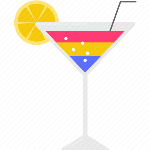 cocktail, drink, party, summer, vacation icon