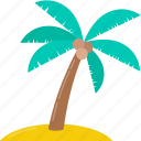 holiday, hot, nature, palm tree, summer, tour, vacation icon