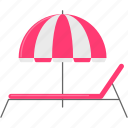beach, holiday, parasol, pool, summer, umbrella, vacation icon