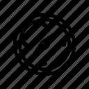 compass, travel icon