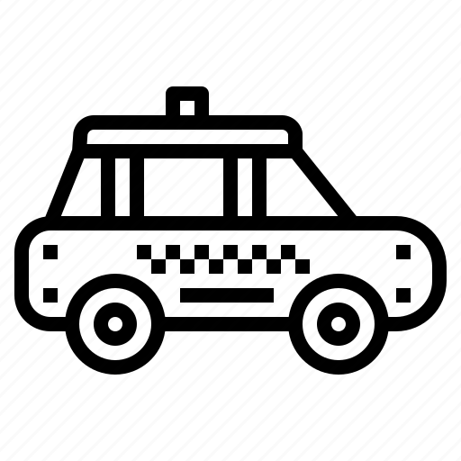 automobile, car, public, taxi, transport, travel, vehicle icon