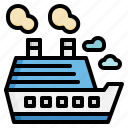 boat, cruise, ship, transport, transportation, yacht icon
