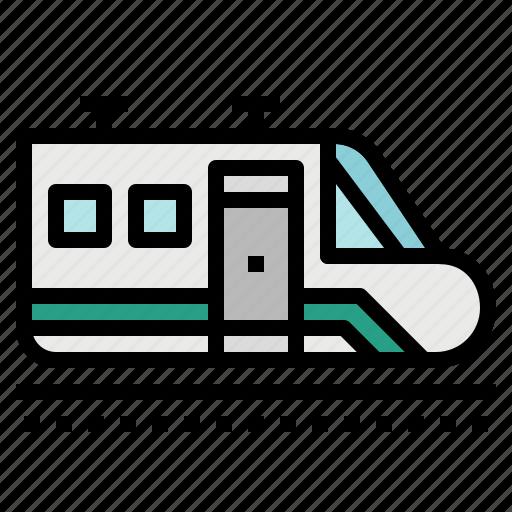 metro, public, train, transport, transportation, underground icon