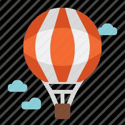 air, balloon, flight, fly, hot, transport, travel icon
