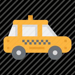 automobile, car, public, taxi, transport, travel, vehicle icon