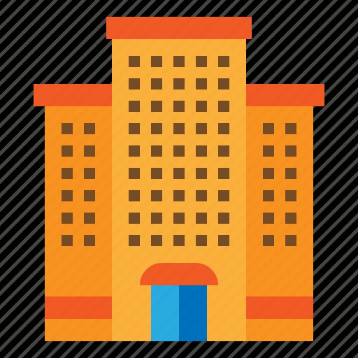 apartment, building, hotel, resort icon