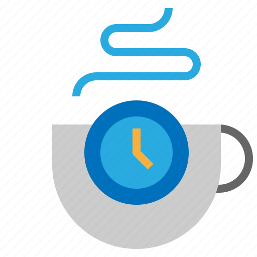 break, coffee, cup, time icon