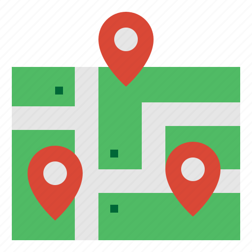 Gps, location, map, navigation icon - Download on Iconfinder