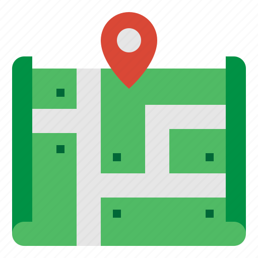 gps, location, map, navigation icon