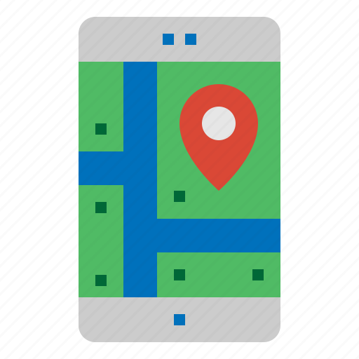 app, gps, location, navigation icon