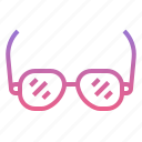 glasses, summer, travel, view icon