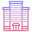 apartment, building, hotel, resort icon