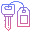 hotel, key, lock, success icon