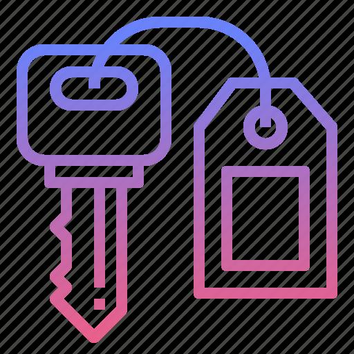 hotel, key, lock, success icon
