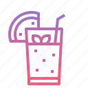 fruit, healthy, juice, summer icon