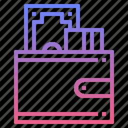 card, cash, money, wallet icon