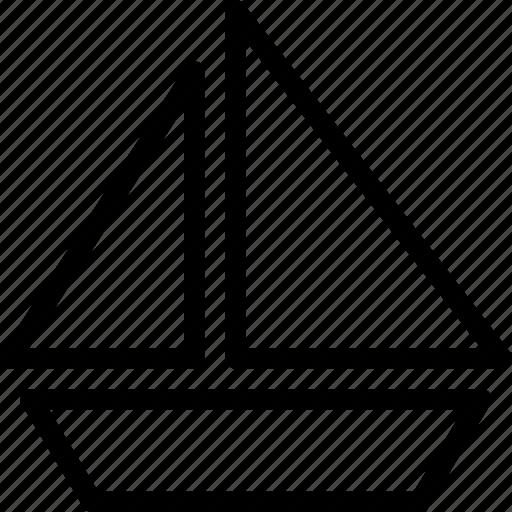 blackboard, board, sea, ship icon