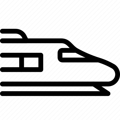 train, transport, transportation, vehicle icon