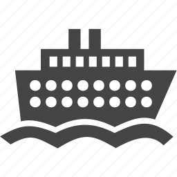 ship, steamship, transportation, travel icon