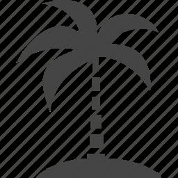 palm, plant, travel, tree icon