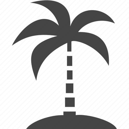 palm, plant, travel, tree icon